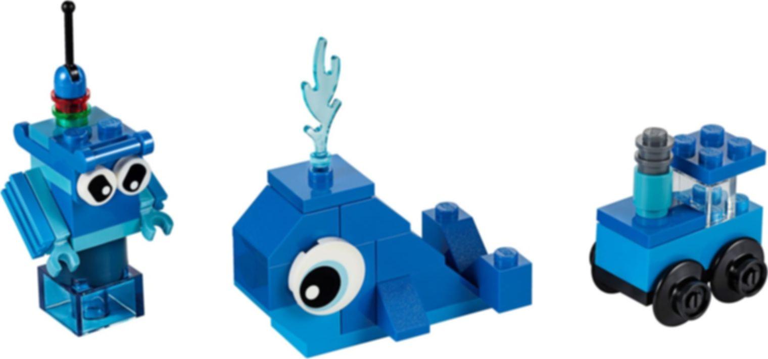 LEGO® Classic Creative Blue Bricks components