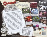 Quarriors! Quest of the Qladiator back of the box