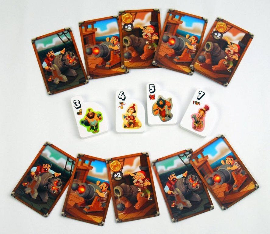 Cannon Buster cards