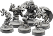 Wiz-War: Bestial Forces miniatures