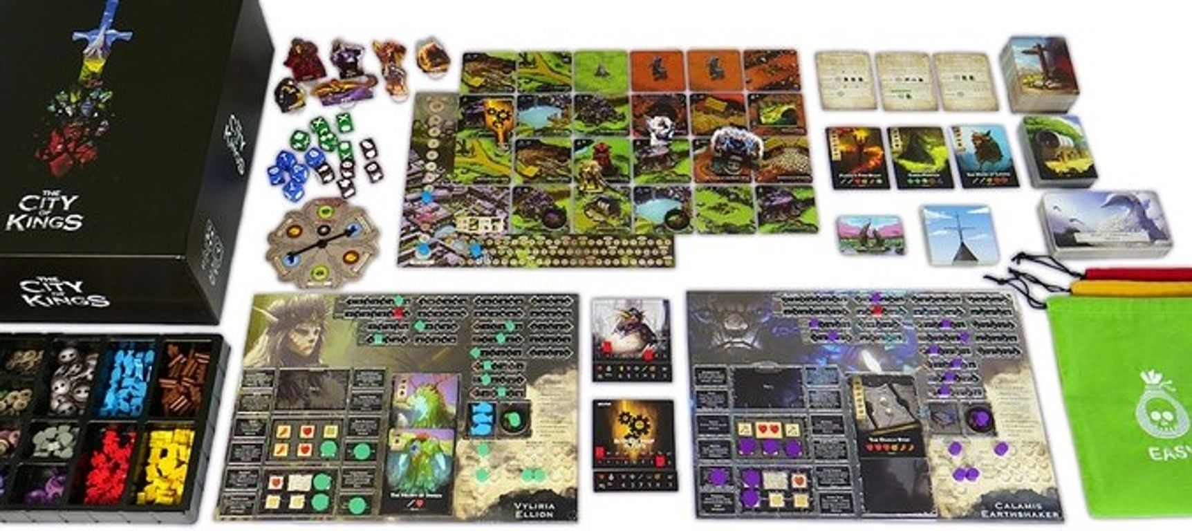 The City of Kings components