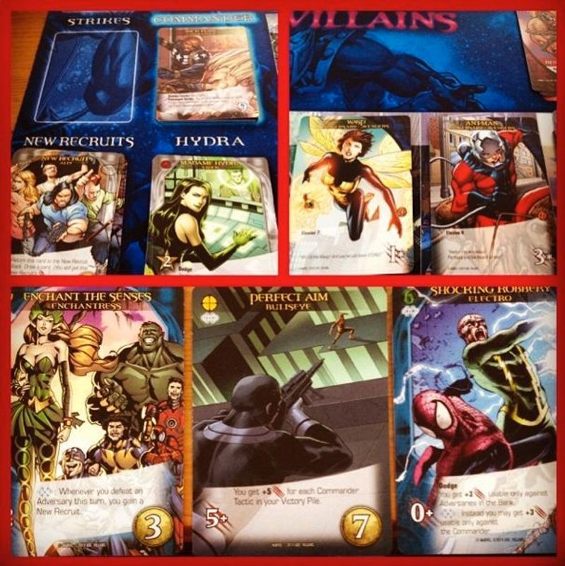 Legendary: A Marvel Deck Building Game - Villains cards