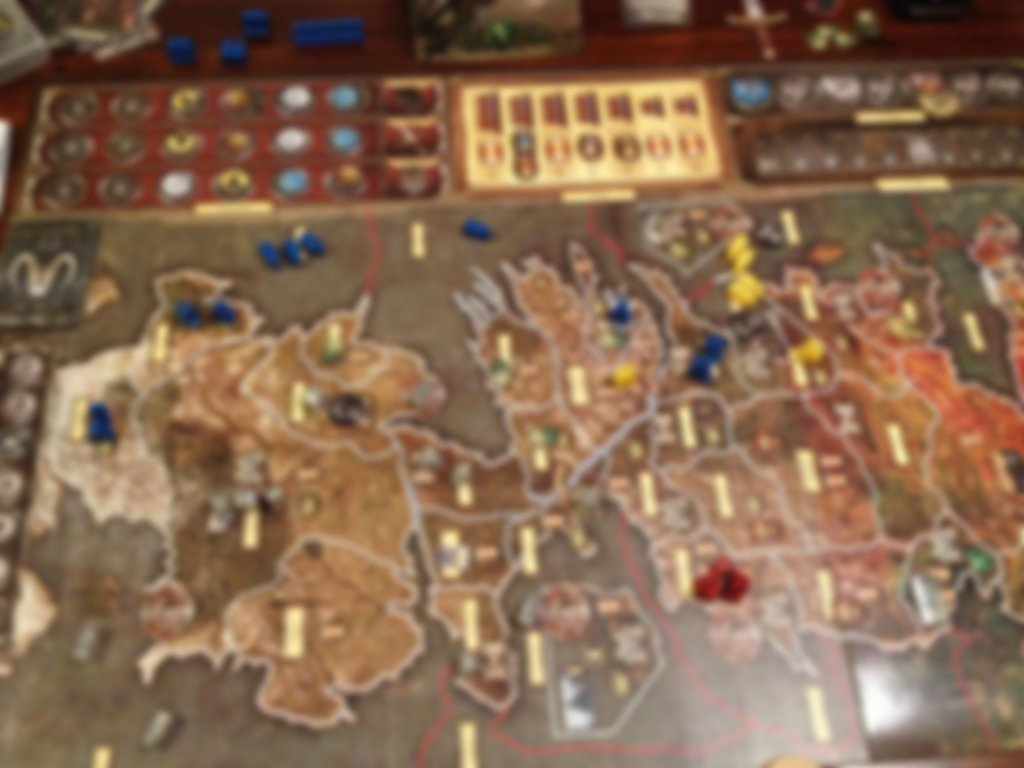 Game of Thrones Board Game Expansion A Feast For Crows gameplay