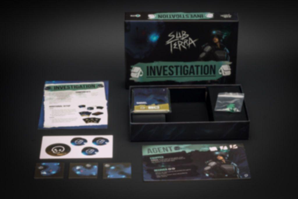 Sub Terra: Investigation components