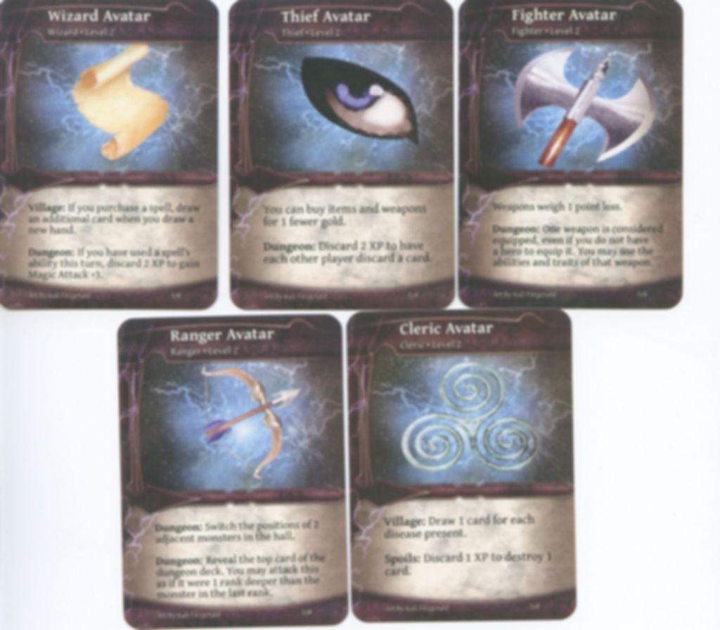 Thunderstone Avatars cards