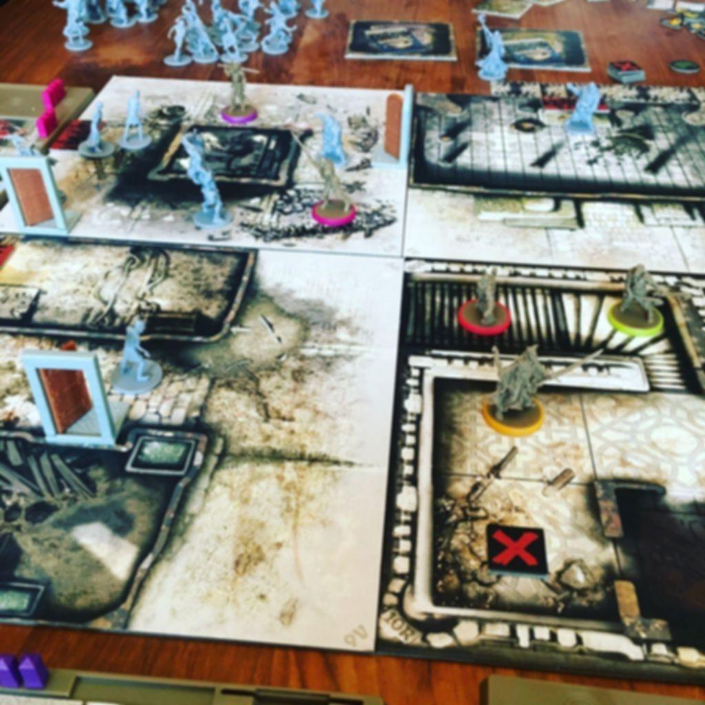 Zombicide: Wulfsburg gameplay