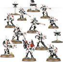 Warhammer 40.000: Tau Empire - Fire Warriors miniatures