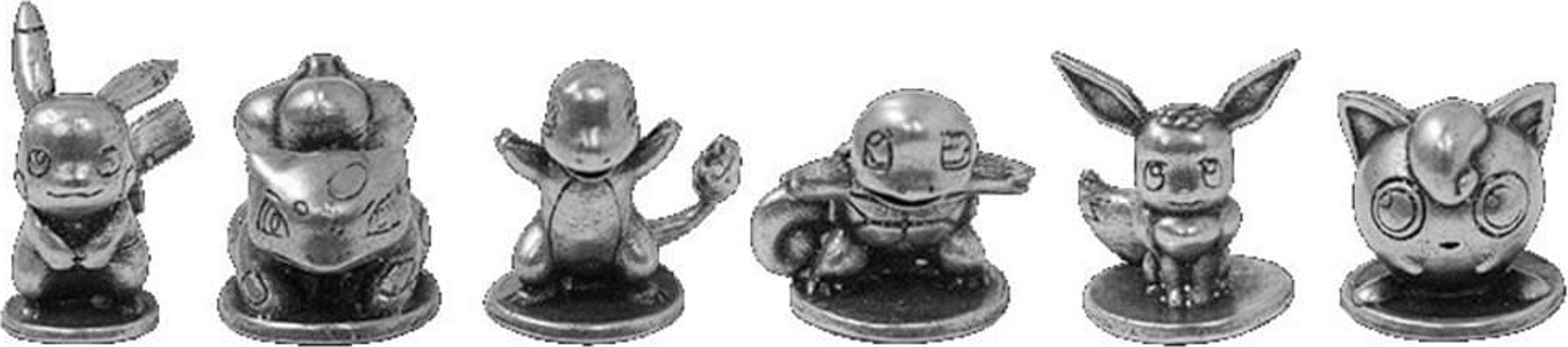 Monopoly: Pokémon Kanto miniatures