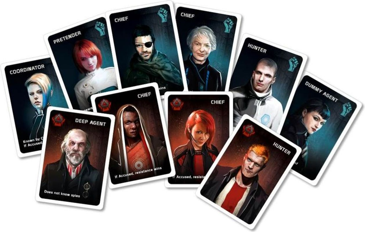 The Resistance: Hostile Intent cards