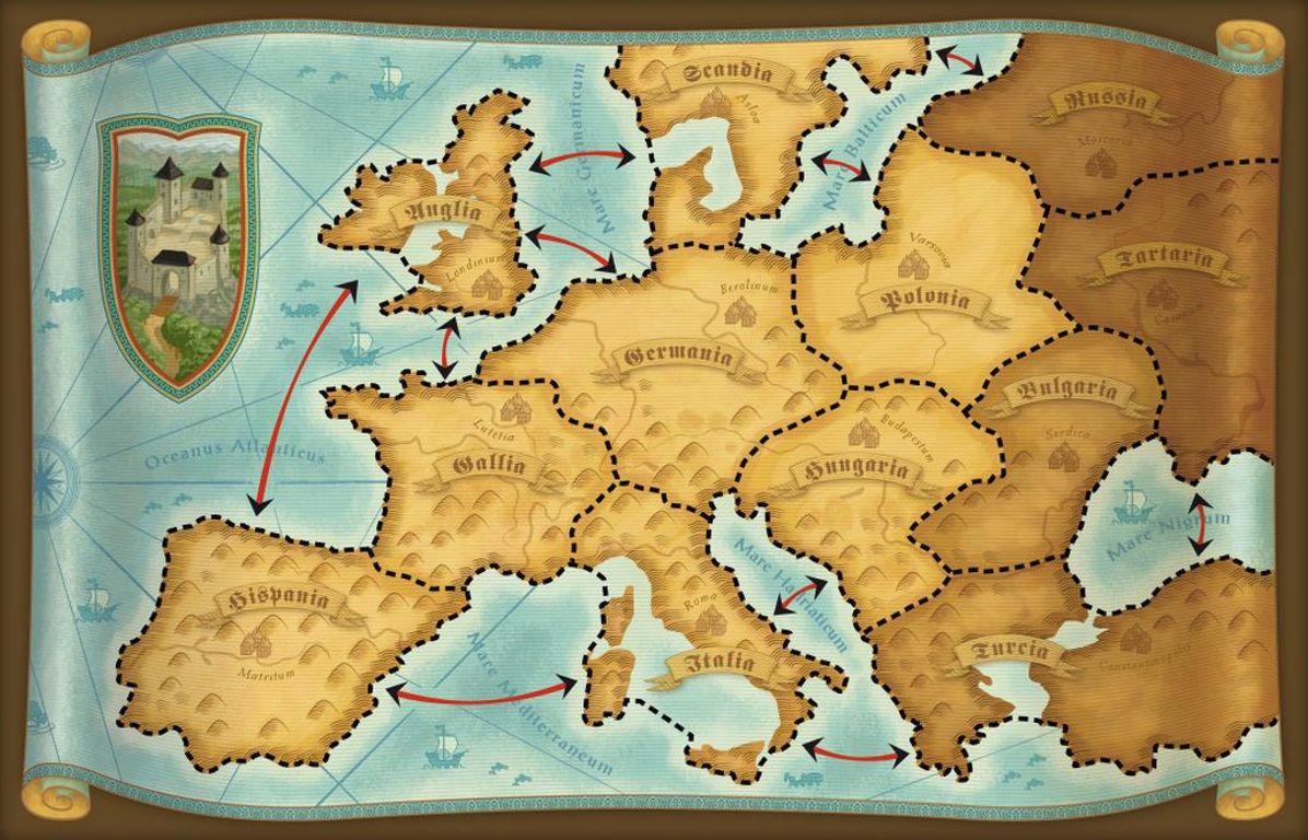 Rattus game board