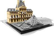 LEGO® Architecture Louvre components