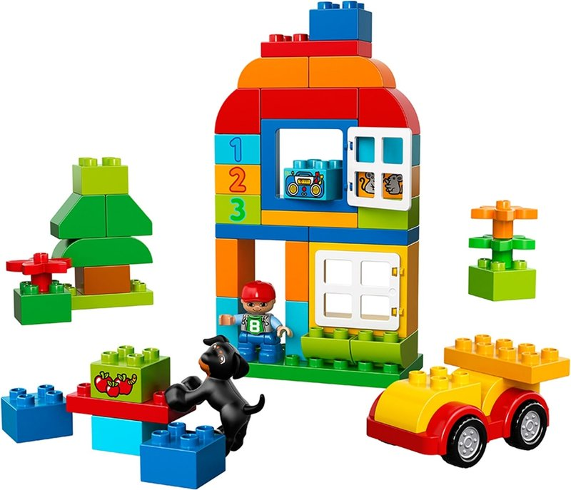LEGO® DUPLO® All-in-One-Box-of-Fun components