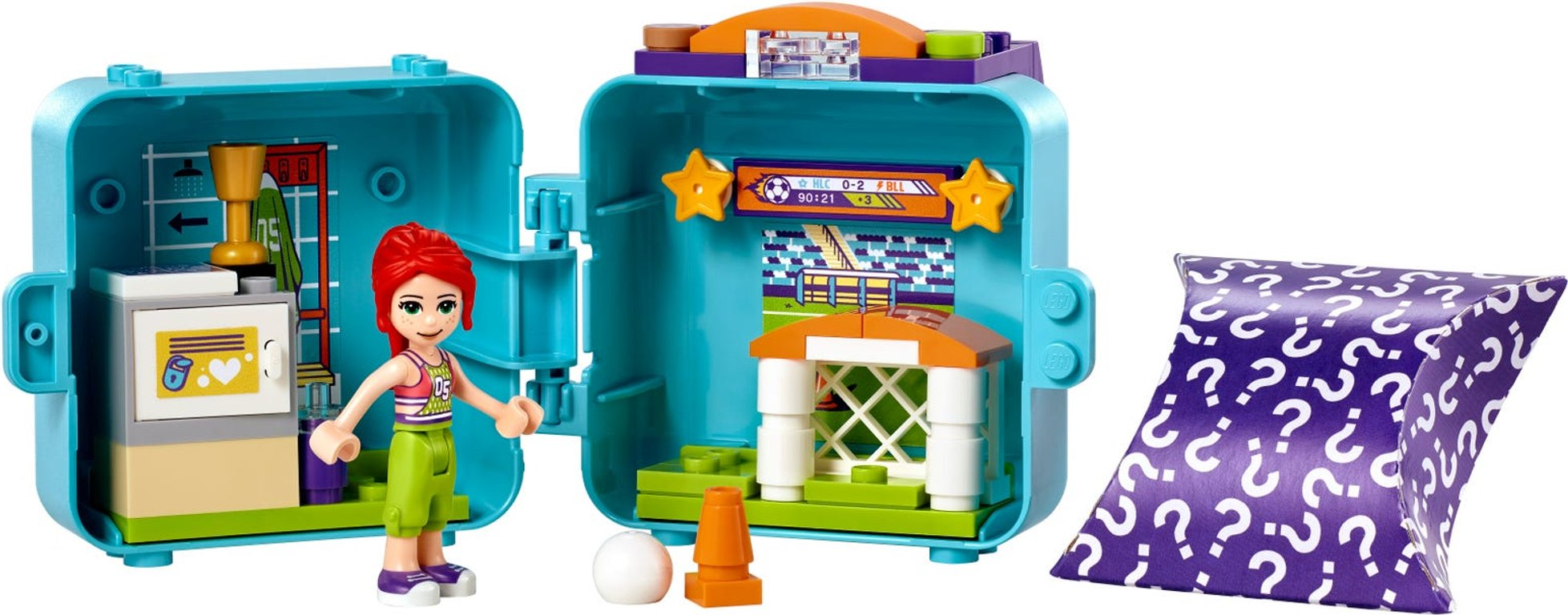 LEGO® Friends Mia's Soccer Cube components