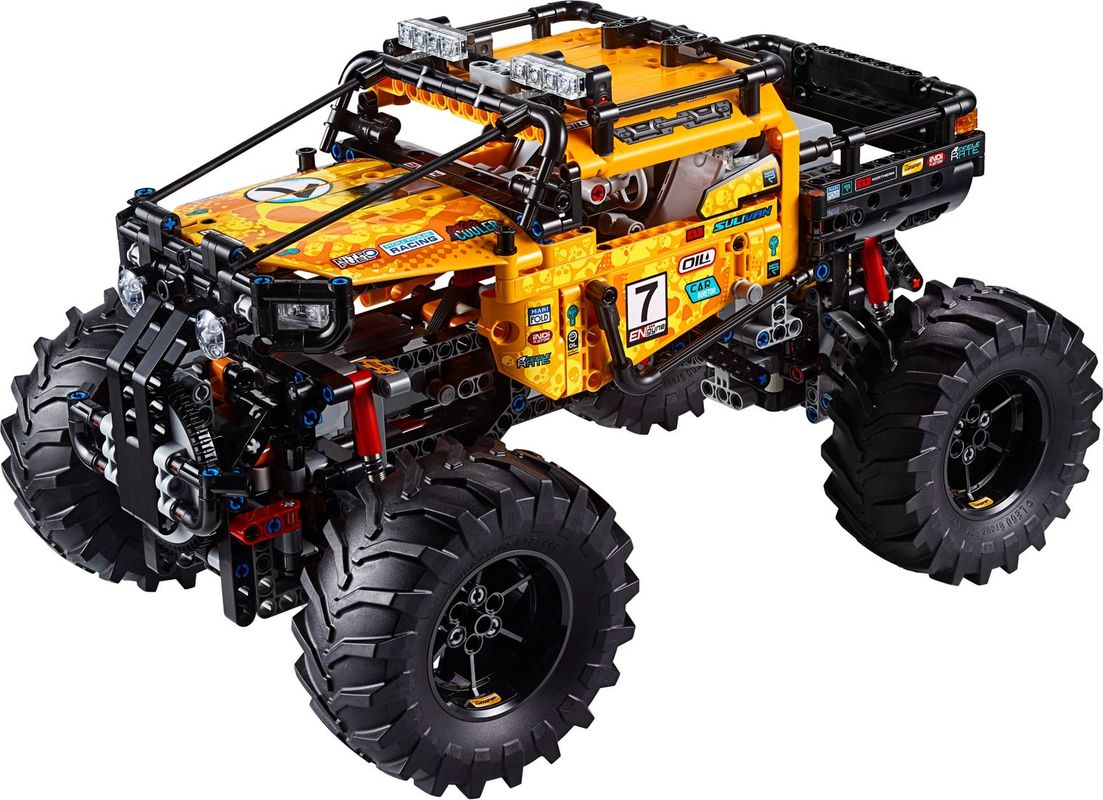 4x4 X-treme Off-Roader components