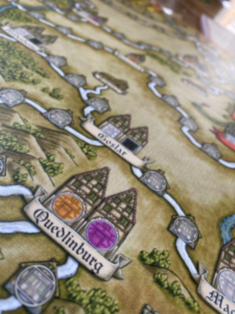 Hansa Teutonica: Big Box game board
