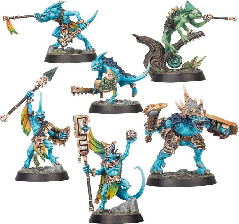 Warhammer Underworlds: Direchasm – The Starblood Stalkers miniatures