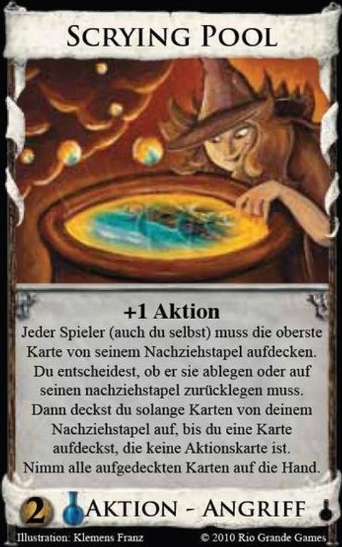 Dominion: Alchemy Scrying pool card
