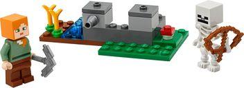 LEGO® Minecraft The Skeleton Defense components