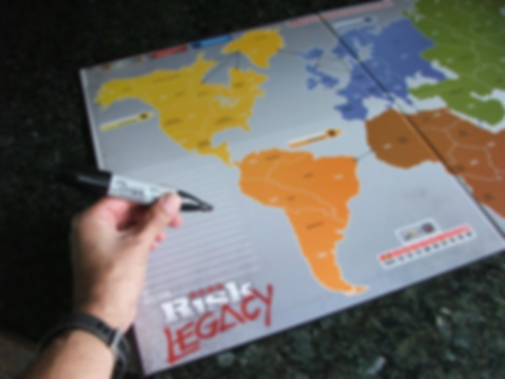 Risk Legacy gameplay
