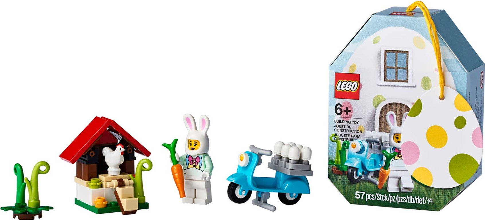 LEGO® Promotions Easter Bunny House components