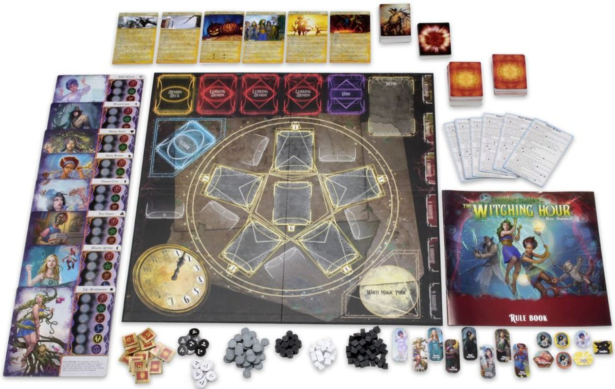 Approaching Dawn: The Witching Hour components