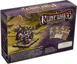Runewars Miniatures Game: Waiqar Infantry Command - Unit Upgrade Expansion back of the box