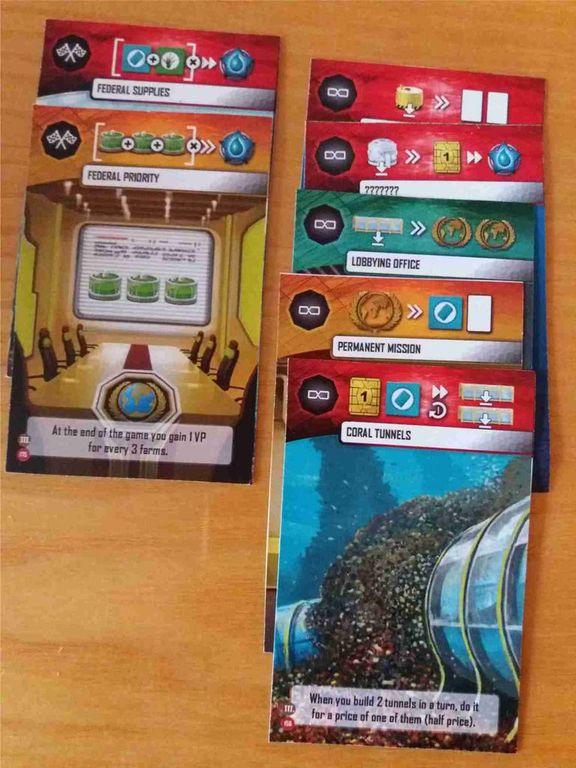 Underwater Cities cards