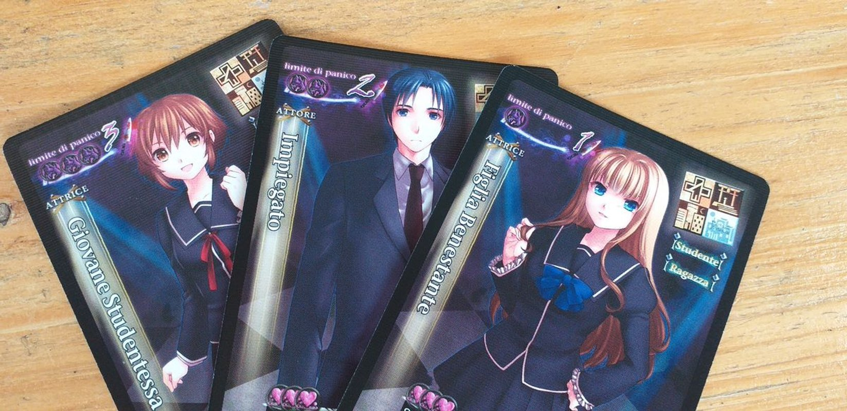 Tragedy Looper cards
