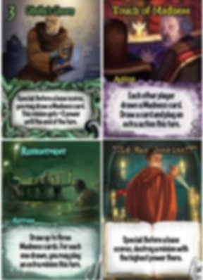 Smash Up: The Obligatory Cthulhu Set cards