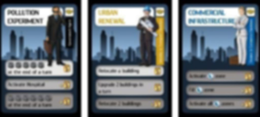 City Council: Government Agent Expansion cards