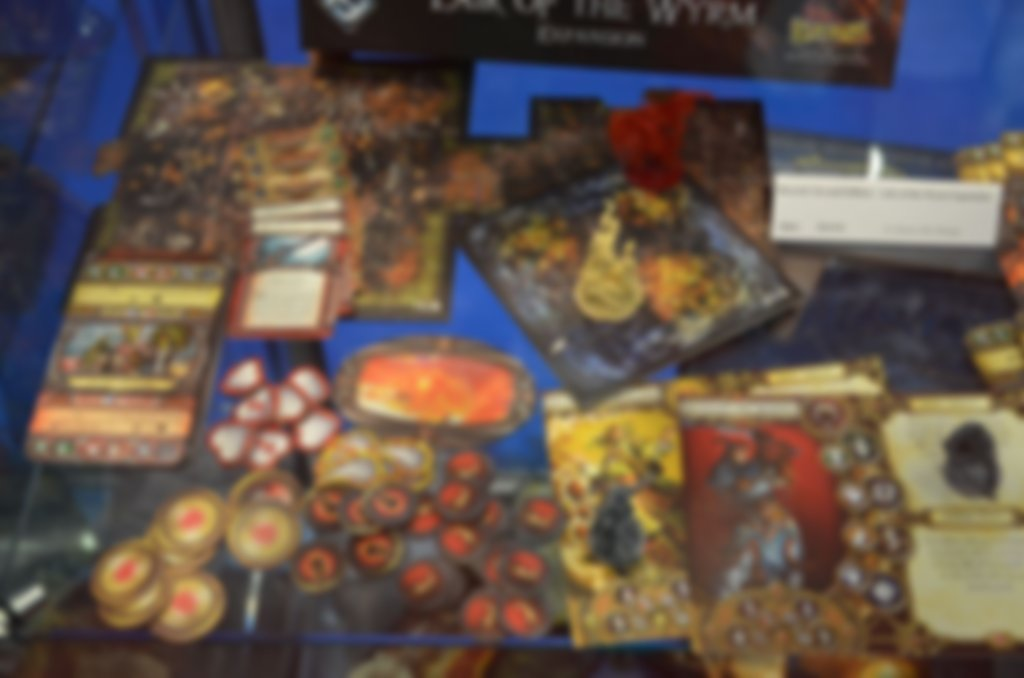 Descent: Journeys in the Dark (Second Edition) - Lair of the Wyrm components