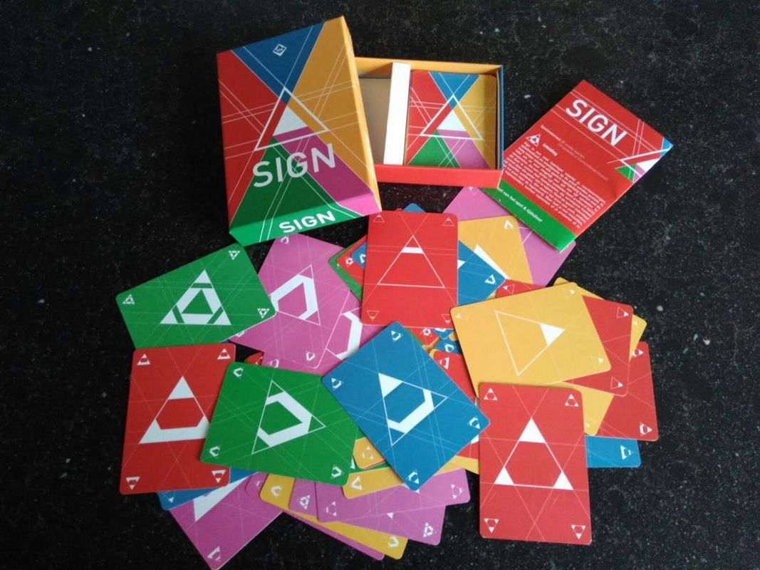 Sign cards