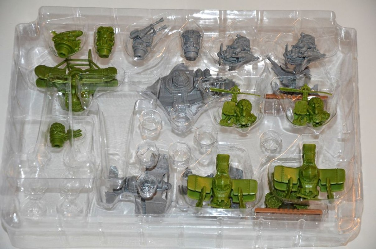 Rivet Wars: Battle of Brighton miniatures