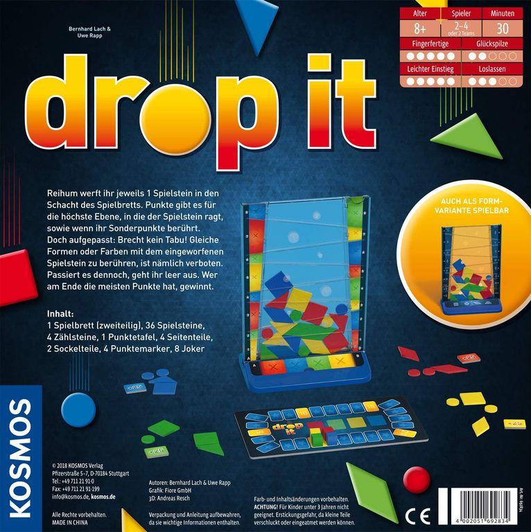 Drop It rückseite der box
