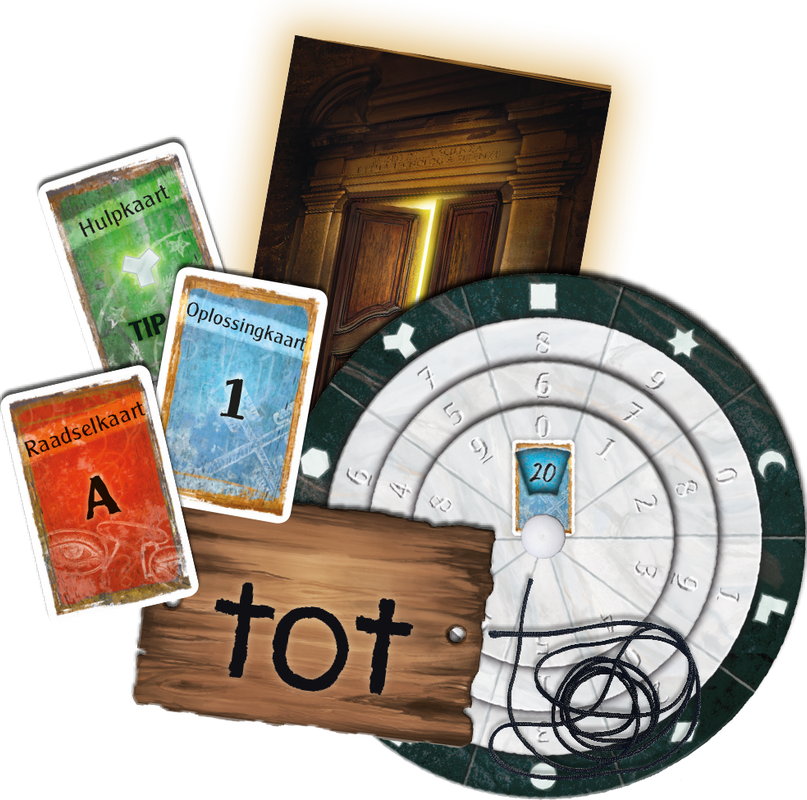 Exit: The Game - The Mysterious Museum components