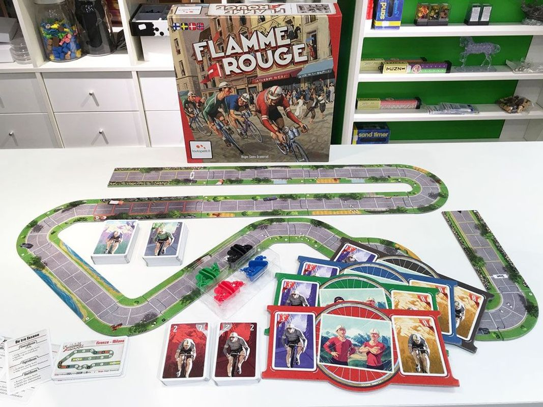 Flamme Rouge components