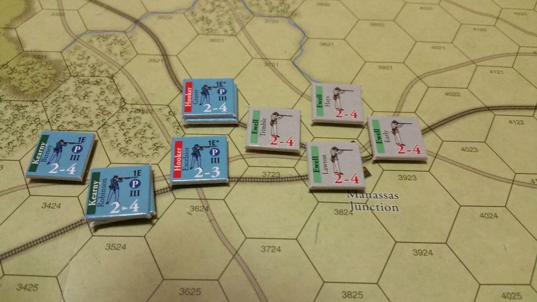 Clash of Giants: Civil War components
