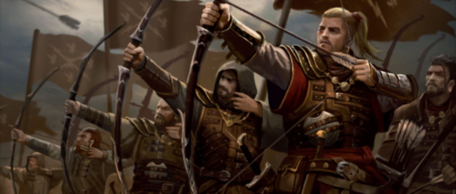 A Song of Ice & Fire: Tabletop Miniatures Game – Neutral Stormcrow Archers