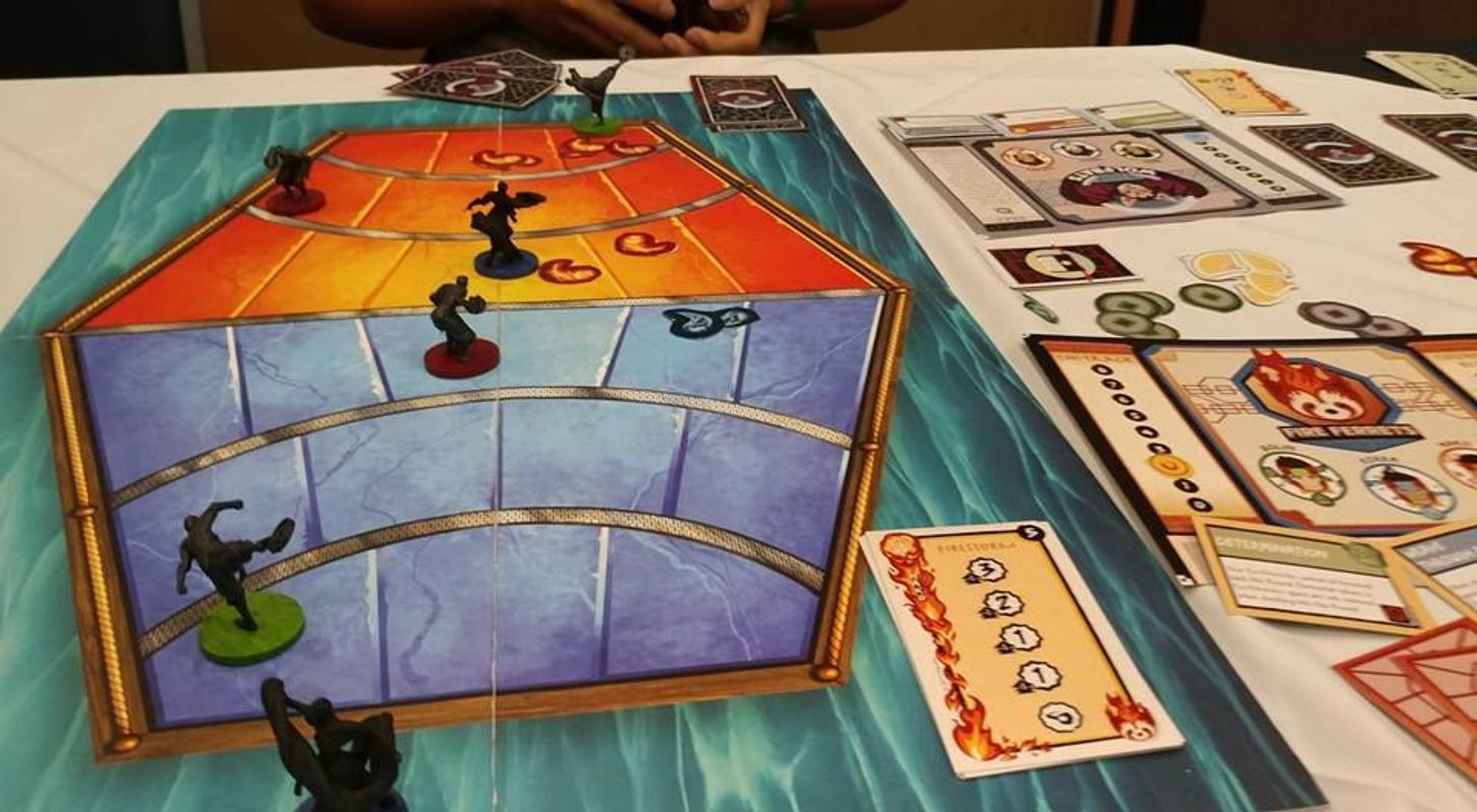 The Legend of Korra: Pro-Bending Arena components