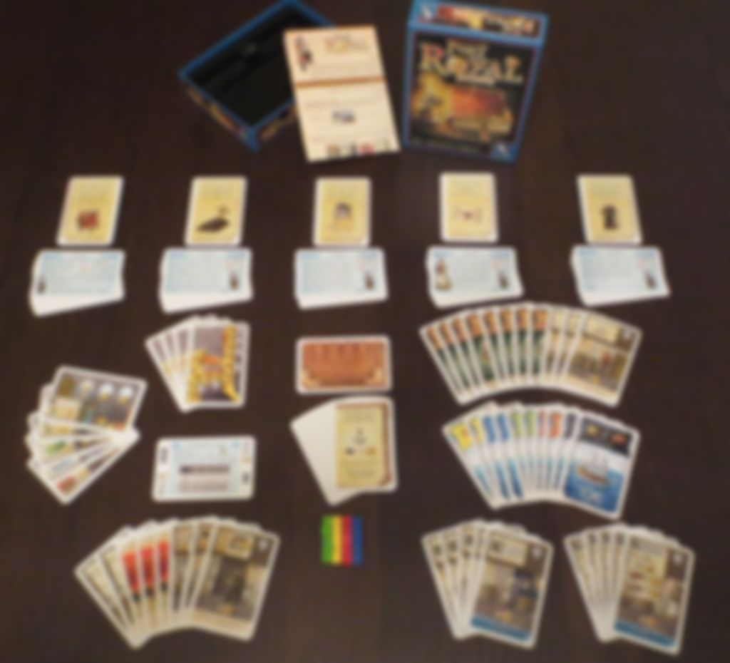Port Royal: The Adventure Begins... components