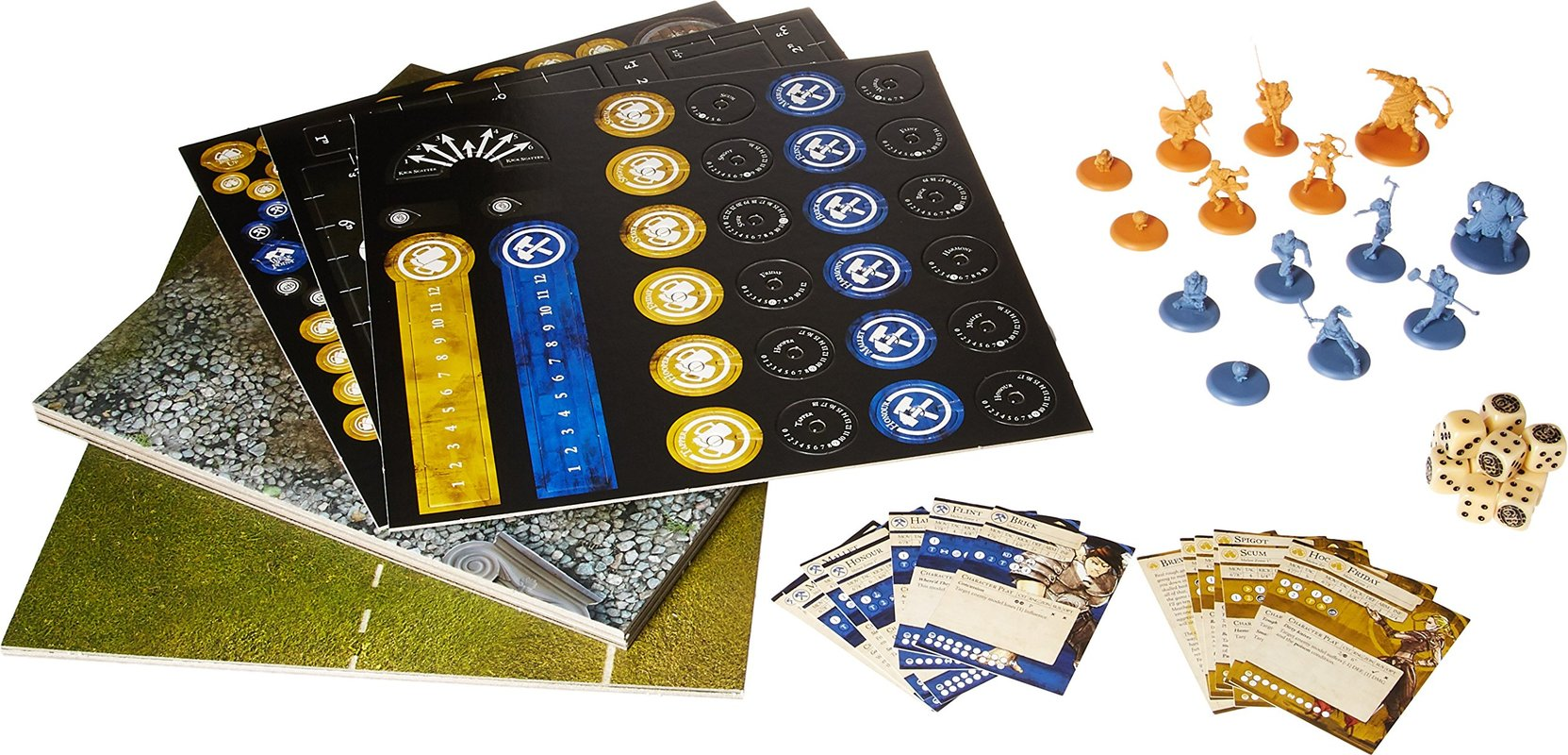 Guild Ball: Kick Off! components