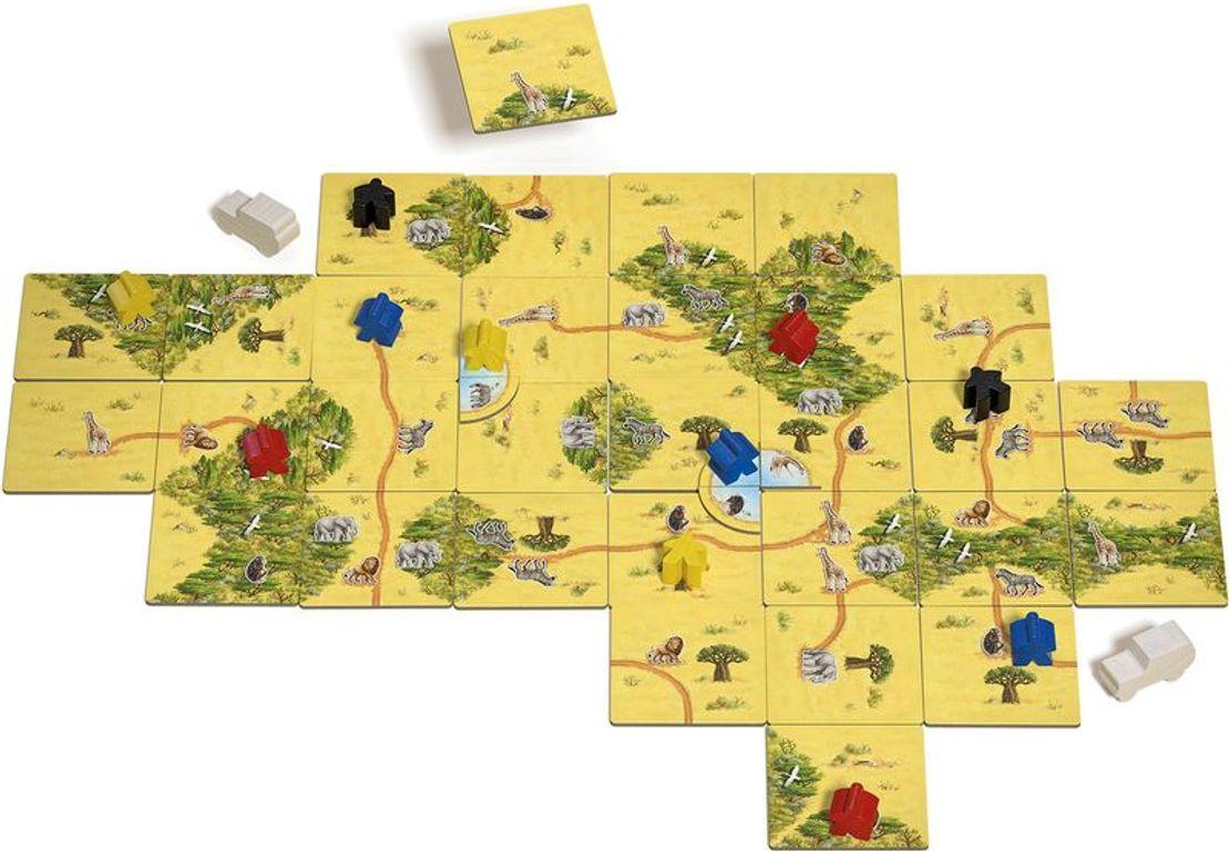 Carcassonne: Safari gameplay