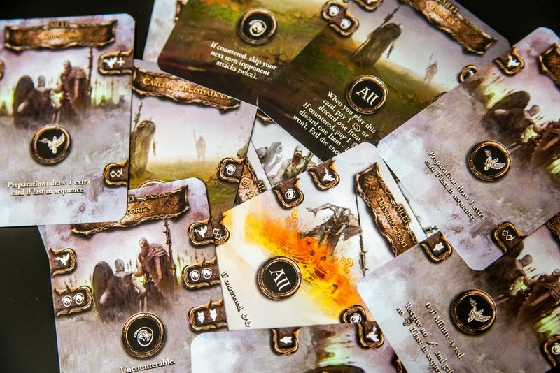 Tainted Grail: The Fall of Avalon cards