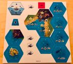 Dice Settlers: Western Sea components