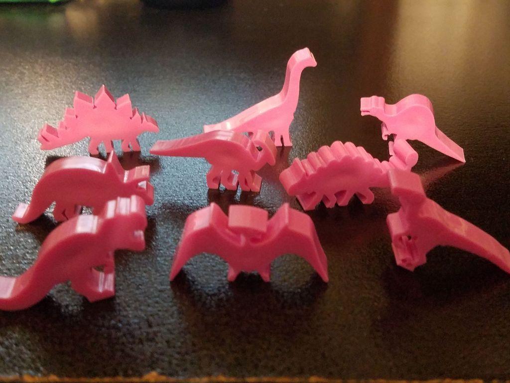 Dinosaur Island miniatures