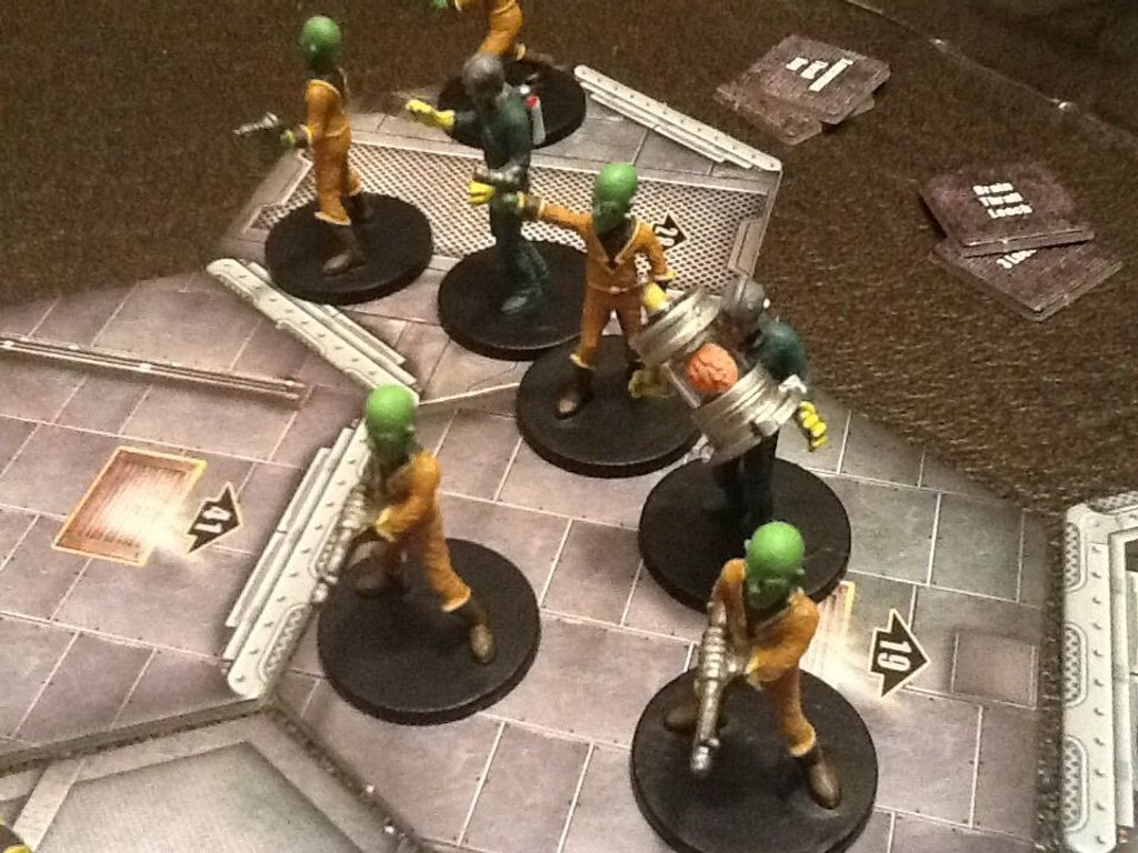 Space Cadets: Away Missions miniatures