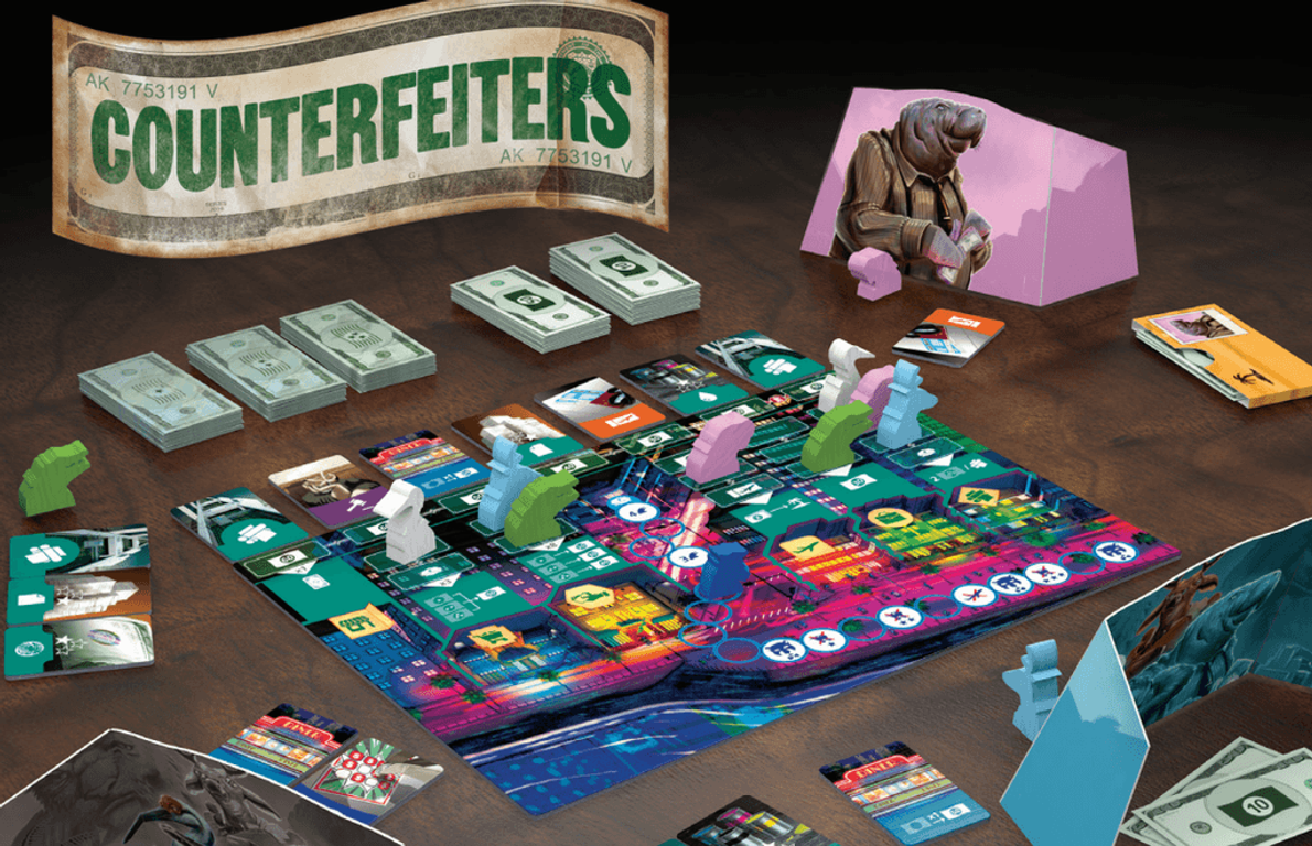 Counterfeiters components