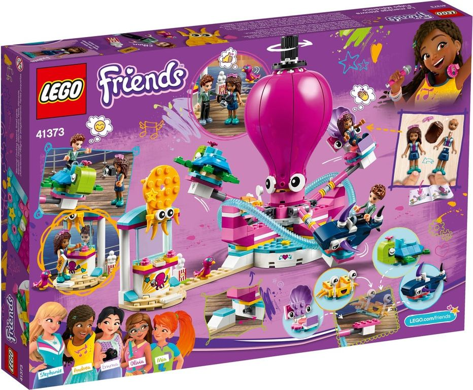 LEGO® Friends Funny Octopus Ride back of the box