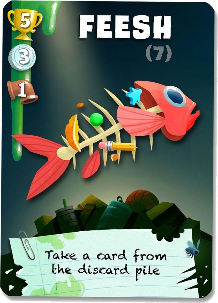Trash Pandas card