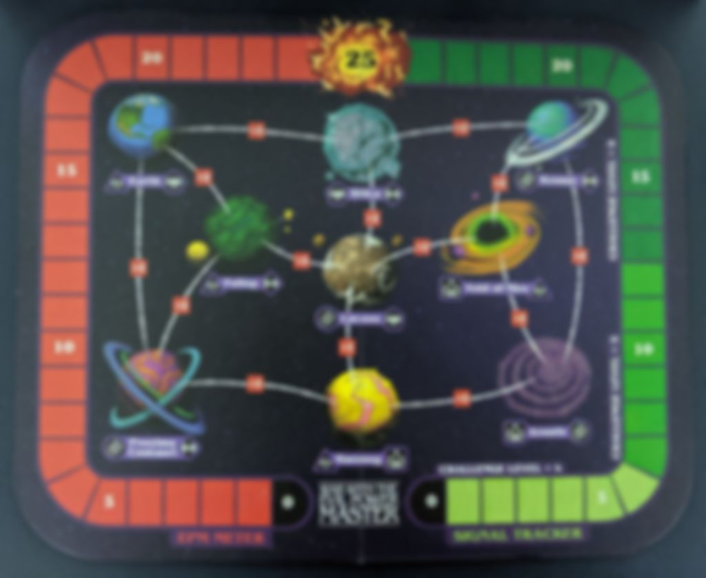 Choose Your Own Adventure: War with the Evil Power Master game board